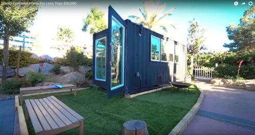 Tiny House Las Vegas >> Tiny Nevada Container House The Casa Club