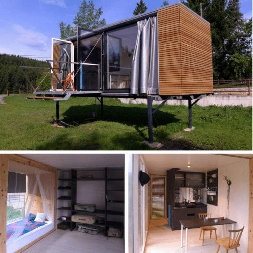 SIMPLE HOME – TINY BOX ON STILTS