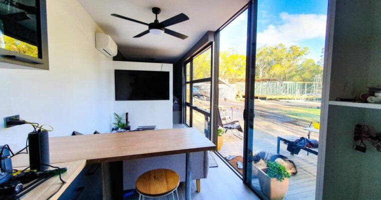 Cam Mullholland's Brisbane Container Home