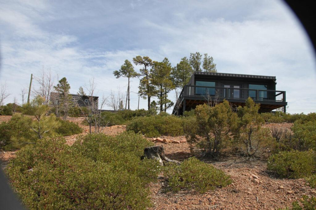 arizona container home exterior